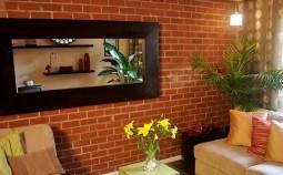 Внутренняя отделка дома при помощи декоративного кирпича