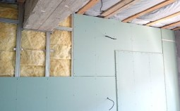 Внутреннее утепление стен минватой с отделкой гипсокартоном