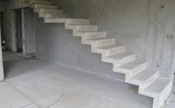Руководство по изготовлению монолитной лестницы из бетона своими руками