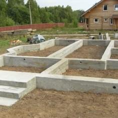 Руководство по самостоятельной заливке фундамента дома