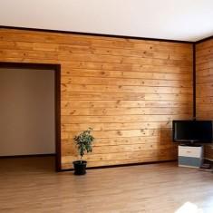 Красивая отделка внутри брусового дома: варианты и технологии