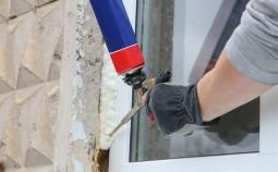 Выбор монтажной пены для установки новых окон