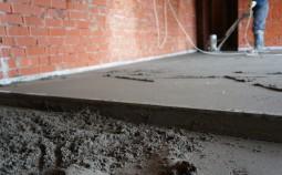 Как рассчитать количество цемента и песка для стяжки пола?