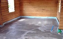Руководство по заливке бетонной стяжки на деревянный пол