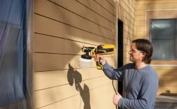 Как выбрать краскопульт для покраски дома: виды и правила работы