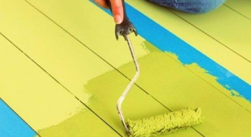 Дисперсионные акриловые краски для деревянного пола