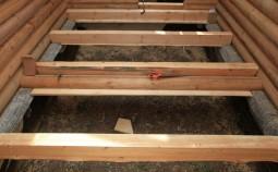 Укладка чернового пола в деревянных домах своими руками