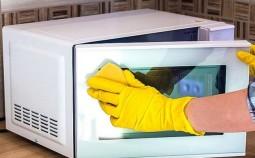 Как и чем отмыть микроволновую печь?
