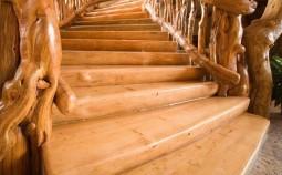 Изготовление и крепление деревянных ступеней к лестнице