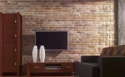 Варианты внутренней отделки стен декоративными панелями под кирпич