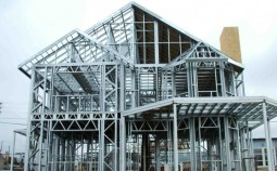 Технология возведения каркасного дома из металлопрофиля