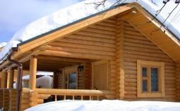 Способы утепления бревенчатого дома: снаружи и изнутри