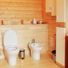 Чем покрыть пол в ванной комнате в доме из дерева