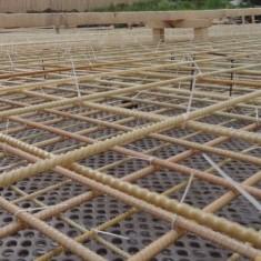 Вязка пластиковой арматуры для фундамента