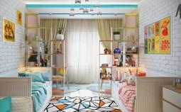 7 способов обустройства детской комнаты для двоих детей