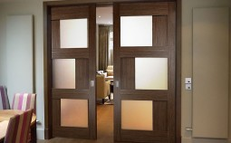 Устройство и особенности раздвижных межкомнатных дверей