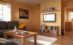 Обзор вариантов внутренней отделки в каркасном доме