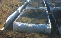 Фундамент из пластиковых труб ПВХ — реальность или выдумка?