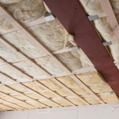 Технология утепления потолка минеральной ватой