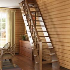 Варианты компактных лестниц на второй этаж для маленьких площадей