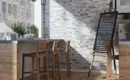 Применение клинкерной плитки при отделке стен интерьера