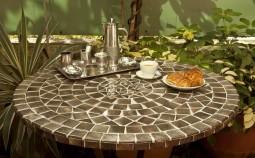 Интересные идеи использования обломков керамической плитки