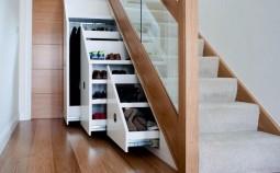 Шкаф под лестницей в частном доме: достоинства и недостатки