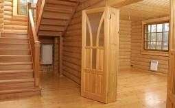 Самое важное о внутренней отделке дома из оцилиндрованного бревна