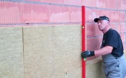 Характеристики минеральной ваты и краткая инструкция по утеплению стен