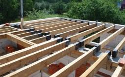 Устройство деревянных перекрытий в доме своими руками
