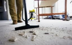 Как убрать пыль после ремонта в квартире?