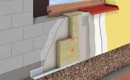 Особенности утепления стен из керамзитобетона