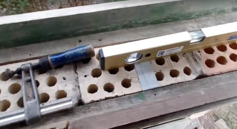 Монтаж подоконников из бетона