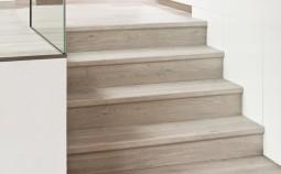 Как обшить лестницу ламинатом?