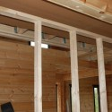 Как правильно сделать внутренние перегородки в деревянном доме