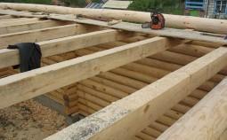 Как усилить балку деревянного перекрытия?