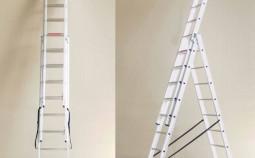 Раздвижные лестницы из алюминия