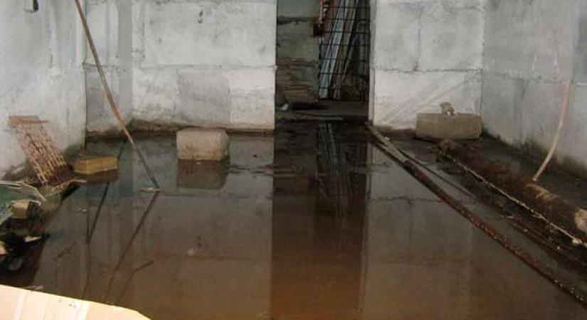 Грунтовые воды в подвале