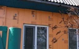 """Наружное утепление деревянного дома при помощи """"Пеноплекса"""""""