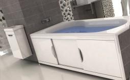 Как установить экран на акриловую ванну?