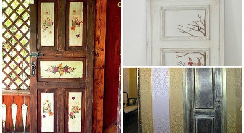 Виды дизайна двери