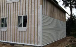 Выбор материала для наружного утепления стен под сайдинг
