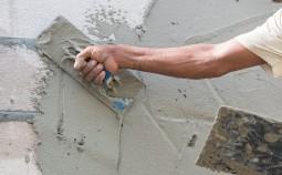 Как и чем штукатурить внутреннюю стену из силикатного кирпича?
