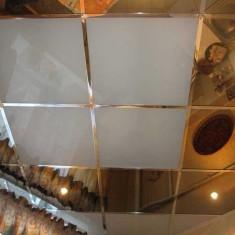 Отделка потолка пластиковыми ПВХ панелями