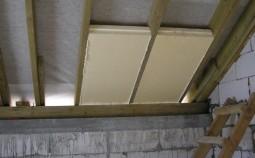 Технология утепления крыши частного дома пенополистиролом
