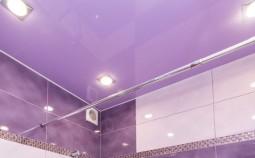 Какое светильники подойдут для ванной комнаты?