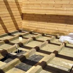 Особенности утепления полов деревянных домов