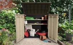 9 доступных способов хранения садового инвентаря зимой