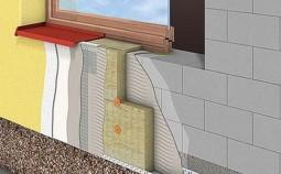 Особенности утепления дома из газобетонных блоков