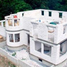 Выбор оптимального фундамента для газобетонного дома